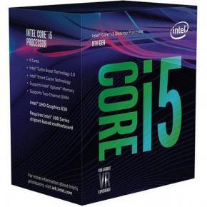 Image for product 'Intel BX80684I58600K Core i5 8600k [LGA1151, 3.6/4.3 GHz 6-Core, 9MB, HD630, 8 GT/s, DDR4, 95W,,BOX]'