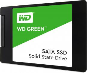 Image for product 'Western Digital WDS120G2G0A GREEN SSD [120GB, 2.5 INCH, SATA3, 6 Gbit/s, 540 MB/s, 2.2W]'
