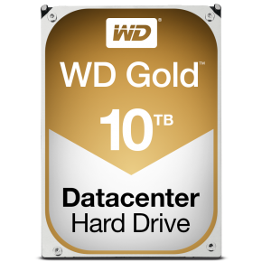 "Image for product 'Western Digital WD101KRYZ Gold Data Center HDD [10TB, 3.5"", SATA3, 7200 RPM, 256 MB]'"