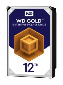 "Image for product 'Western Digital WD121KRYZ Gold Data Center HDD [12TB, 3.5"", SATA3, 7200 RPM, 256MB, 255MiB/s]'"