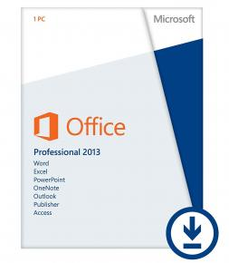 Image for product 'Microsoft Office AAA-02769269-16147 Professional 2013 Digital License [1-PC, Windows]'