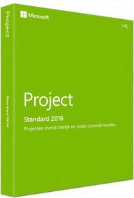 Image for product 'Microsoft Z9V-00342 Project 2016 Standard Digital license [1-user, WIndows]'