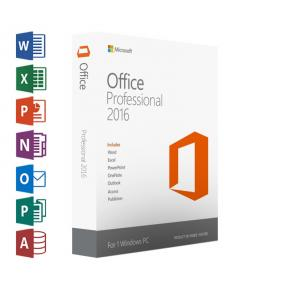 Image for product 'Microsoft Office 269-16805 Professional 2016 Digital license [1-user, All-Languages, Windows]'