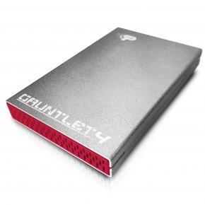 Image for product 'Patriot PCGT425S Gauntlet 4 External HDD Enclosure [2.5`, USB3.1 Gen2, SATA3, Grey]'