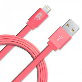Image for product 'Patriot PCALC3FTRGD Apple Woven Lightning Cable [Lightning, Pink, 1m]'