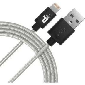 Image for product 'Patriot PCALC3FTSVR Apple Woven Lightning Cable [Lightning, Silver, 1m]'