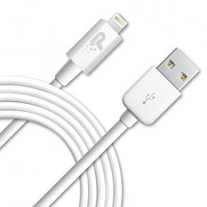 Image for product 'Patriot PCALC3FTWT Apple Woven Lightning Cable [Lightning, White, 1m]'
