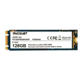 Image for product 'Patriot PS256GPM280SSDR SCORCH SSD [256GB, M.2 2280, PCIe3 x2, ECC, 1700/ 780MB/s, 200K/ 90K IOPS]'