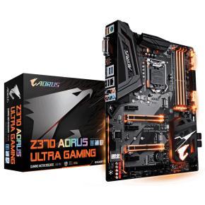 Image for product 'Gigabyte Z370 AORUS ULTRA GAMING 2.0 [ATX, LGA1151 V2, InteZ370, 4x DIMM DDR4, M.2, USB3.1Gen2]'