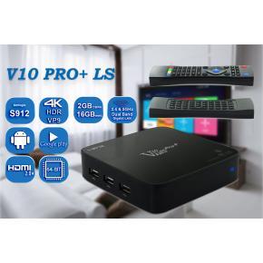 Image for product 'Venz V10 PRO+ Ladyshape VZ-RK-1 Bundel 4K Streaming TV Box [Amlogic S912, Android 7.1, KODI 17.6]'