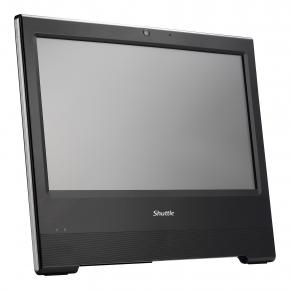 Image for product 'Shuttle X50V6U3 Black All-In-One Barebone [15.6Â? Touch, Core I3-7100U, 2MP, fanless, IP54]'
