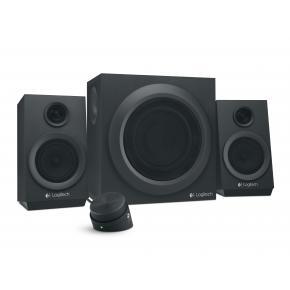 Image for product 'Logitech Z333 2.1CH Speaker Set [3.5mm, 40W RMA, 55 - 20000Hz, 10 O, Black]'