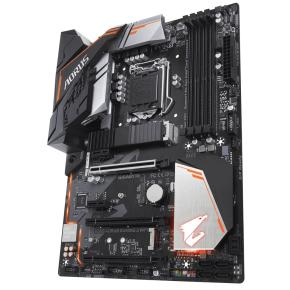 Image for product 'Gigabyte B360 AORUS GAMING 3 WIFI [ATX, LGA1151, Intel B360, 4x DDR4 DIMM2666 MHz, M.2, USB3.1 Gen2]'