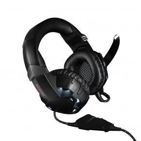 Image for product 'Modecom S-MC-849-SHIELD VOLCANO MC-849 SHIELD [3.5mm/ USB, 16Ohm, 20Hz-20KHz, 117 dB, Ø50mm]'