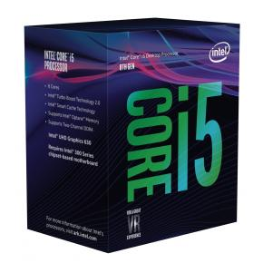 Image for product 'Intel BX80684I58600 Intel® Core? i5-8600 (LGA1151, 3.1/ 4.3Ghz 6-Core, 9MB, 8 GT, HD630, 65W]'