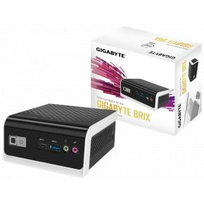 Image for product 'Gigabyte GB-BLCE-4000C BriX Mini Barebone PC [Intel® Cel N4000, 2x SO-DIMM DDR4-2400, UHD600, WiFi]'