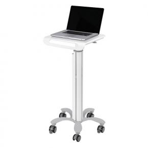 """Image for product 'Newstar MED-M050 Medical Mobile Stand for Laptops [1x 10"""" - 18"""" 460 mm, 410 mm, White]'"""