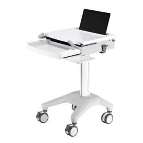 Image for product 'Newstar MED-M200 Medical Mobile Stand for Laptop, keyboard & mouse, Height Adjustable [5kg, White]'