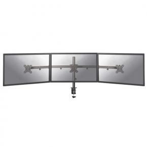 "Image for product 'Newstar FPMA-D550D3BLACK Flat screen desk mount [Clamp, 1x 7kg, 10 - 27"", 100x100 mm, Black]'"