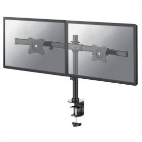 "Image for product 'Newstar FPMA-DCB100DBLACK Flat screen desk mount [Clamp, 1x 10kg, 10 - 27"", 100x100mm, Black]'"