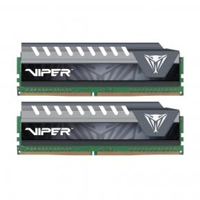 Image for product 'Patriot PVE416G266C6KGY Viper Elite Series Kit [16GB (2x 8GB) DIMM DDR4, 2666MHz, CL16, 1.2V,'