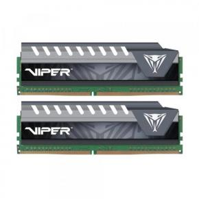 Patriot PVE48G266C6KGY Viper Elite Series Kit, [8GB (2x 4GB) DDR4 DIMM, 2666MHz CL16, 1.2V, Heatsp]