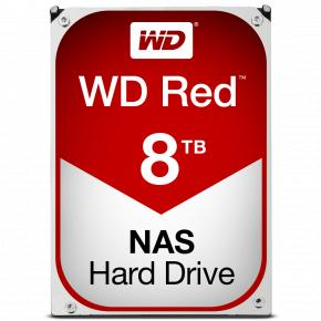 """Image for product 'Western Digital WD80EFAX Red NAS Desktop HDD [3.5"""", 8TB, SATA3, 5400RPM, 256MB Cache]'"""