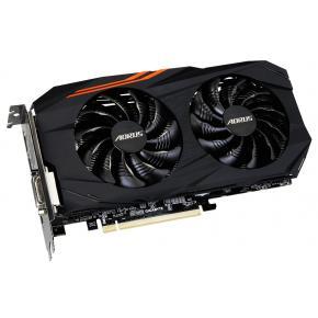 Image for product 'Gigabyte GV-RX570AORUS-4GD AORUS Radeon RX570 4G [4GB, GDDR5, 256bit, 1295 MHz, Dual fan, CF, 450W]'