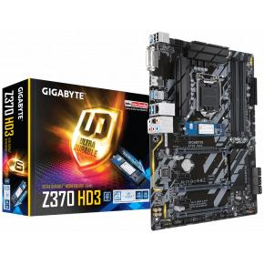 Image for product 'Gigabyte Z370 HD3-OP Z370 HD3-OP [ATX, LGA1151, intel Z370, 4x DIMM DDR4, 4000MHz, CF, USB3.1, M.2]'