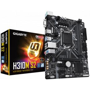 Image for product 'Gigabyte H310M S2 2.0 Ultra Durable motherboard [uATX LGA1151 V2, Intel H310, 2x DDR4 DIMM, 2666Mhz]'