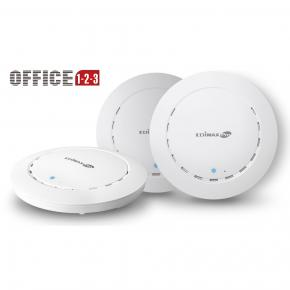 Image for product 'Edimax Office +1 2 x 2 ac1300wave 2dual-band ceiling-mount poe access point'