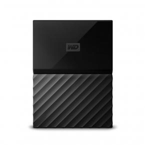 Image for product 'Western Digital WDBS4B0020BBK-WESN My Passport Ext HDD [2TB, Micro-USB B, USB3.1 Gen1, 5Gbps, Black]'