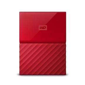 Image for product 'Western Digital WDBS4B0020BRD-WESN My Passport External HDD [2TB, Micro-USB USB3.1 Gen1, 5Gbps, Red]'