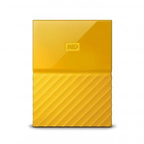 Image for product 'Western Digital WDBS4B0020BYL-WESN My Passport External HDD [2TB, USB B, USB3.1 Gen1, 5Gbps, Yellow]'
