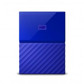 Image for product 'Western Digital WDBS4B0020BBL-WESN My Passport External HDD [2TB, Micro-USB B, USB3.1 Gen1, Blue]'