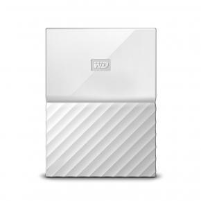 Image for product 'Western Digital WDBS4B0020BWT-WESN My Passport External HDD [2TB, Micro-USB B USB3.1 Gen1, White]'