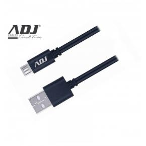 Image for product 'ADJ 110-00102 Speedy Charge Cable [USB/Micro USB, 3A Fast Charge, 1.5m, Black]'