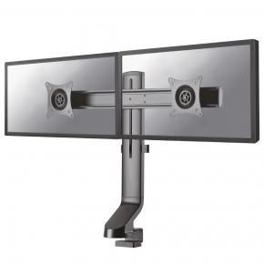"Image for product 'Newstar FPMA-D860DBLACK Flatscreen bureausteun [1x 10-27"", 8kg, 26 - 45 cm, 75x75/ 100x100mm, Black]'"