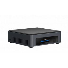 Image for product 'Intel BLKNUC7i3DNK2E NUC Barebone [CFF BGA1356, Intel i3-7100U 2.4Ghz, 2xDDR4 SO-DIMM, USB3.1,WiFi]'