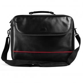"Image for product 'Modecom TOR-MC-MARK-15.6-PRO MARK PRO LAPTOP BAG [15.6"", Eco-leather, Black]'"