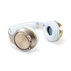 Image for product 'Conceptronic CHSPBTNFCSPKG Wireless Head-set Goud/Wit [Bluetooth, 90-18000Hz, Binaural, Circumaural]'