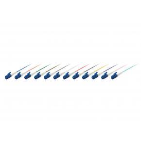 Image for product 'Equip 255601 Pigtails Optical Fiber Cable [LC/PC, SM, LSZH, Male, 0.5m, Multicolour set]'