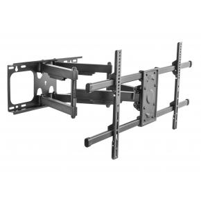 "Image for product 'Equip 650324TV Wall Mount Bracket [1x75 kg, 37-90"", Tilt/Swivel, , 200x200 mm, 816 x 410 mm, Black]'"