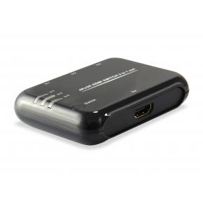 Image for product 'Equip 332721 HDMI Switch [3x, HDMI1.4, Dolby True-HD, 7.1CH, Black]'