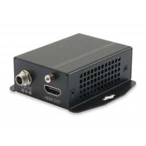 Image for product 'LevelOne HVE-9111RF Audio-Video-Extender over Cat5 [rx RJ45, HDMI, 1920x1200@60hz, 600 mA]'