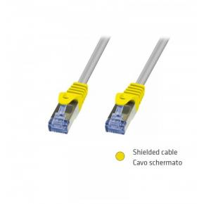 Image for product 'ADJ 310-00066 Networking Cable [RJ45, FTP, Cat. 6, 5m, Shielded, Grey]'