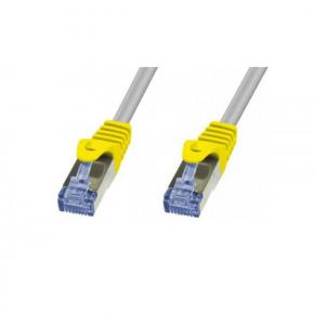 Image for product 'ADJ 310-00062 Networking Cable [RJ45, FTP, Cat. 6, 0.5m, Shielded, Grey]'