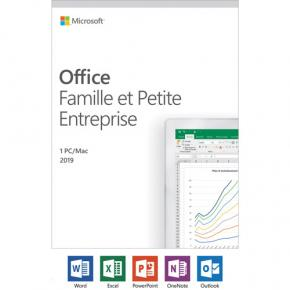 Image for product 'Microsoft T5D-03218 Office Home and Business 2019 FR [1 user, WIN/MAC, Outlook, Powerpoint,OneNote+]'