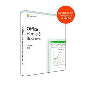 Image for product 'Microsoft T5D-03210 Office Home and Business 2019 DE [1 user: PC/MAC, Outlook, Powerpoint, OneNote+]'