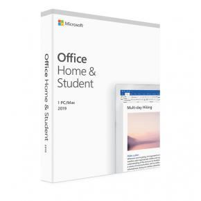 Microsoft 79G-05045 Office Home and Student 2019 FR [1yr, Win/MAC, Word/ Excel/ Powerpoint/ OneNote]